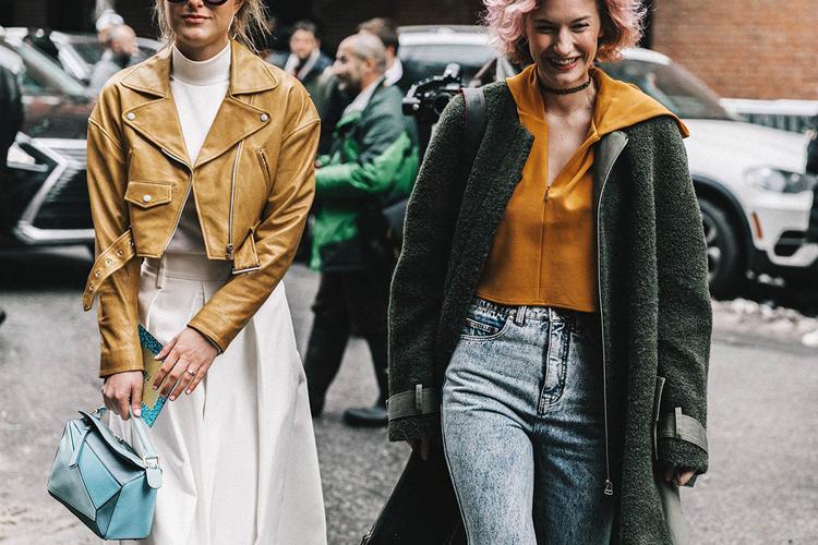 Cuatro tendencias vistas en el street style de la NYFW