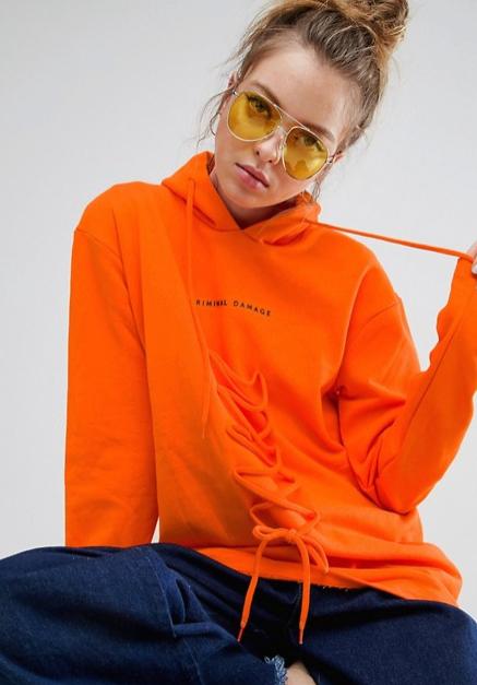 gafas de sol amarillas Asos