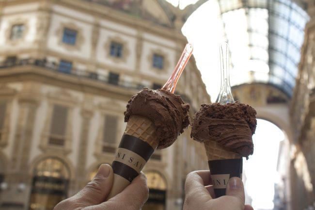 Milán en dos días guía de viaje be trendy my friend helado italiano