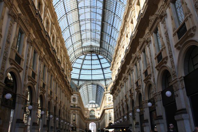 milán en dos días guía de viaje be trendy my friend galleria vittorio emanuelle II