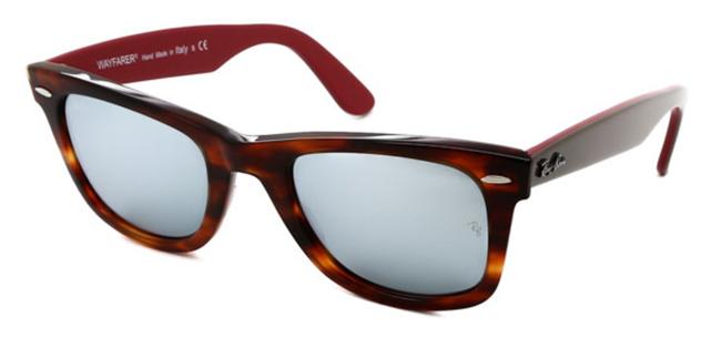 ce1585466c ... par de sus gafas best-seller para sortearlas en nuestro facebook entre  todos vosotros. Se trata de las Ray-Ban RB2140 Original Wayfarer Bicolor  117830.