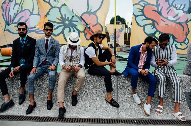 street style masculino pitti yomo florencia