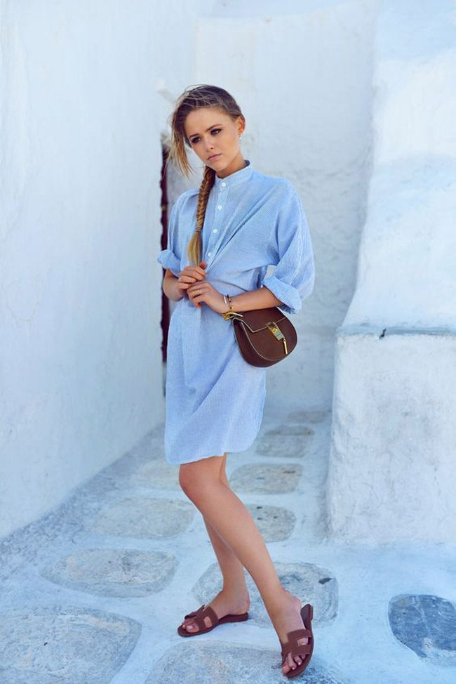 kristina bazan sandalias hermes oran verano 2017 blogger