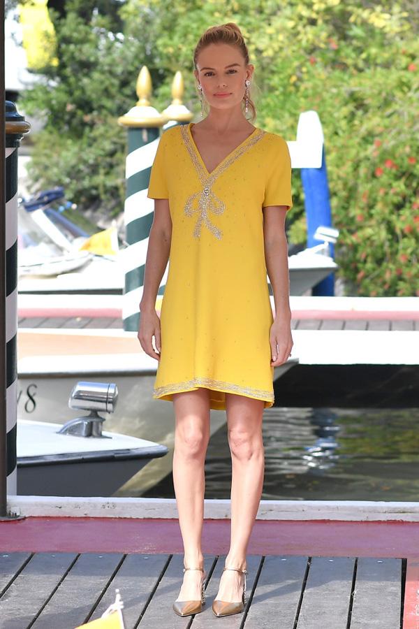 Kate bosworth festival cine venecia vestido miu miu 2017