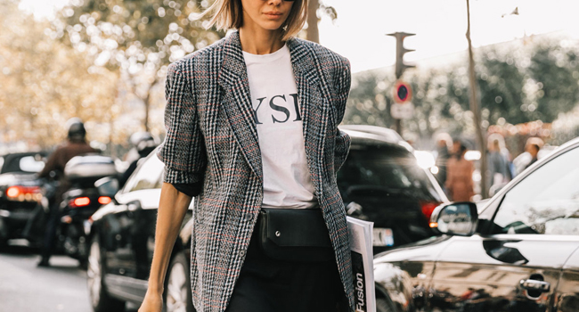 blazer ejecutiva looks inspiracion be trendy my friend vogue spain street style
