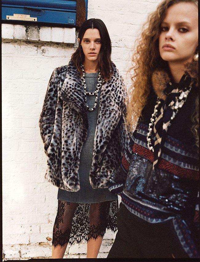 editorial Zara TRF noviembre 2017 abrigo falsa piel