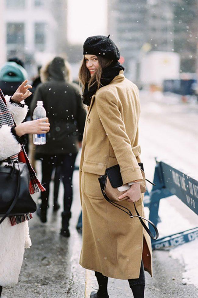 tendencias 2018 boina francesa street style