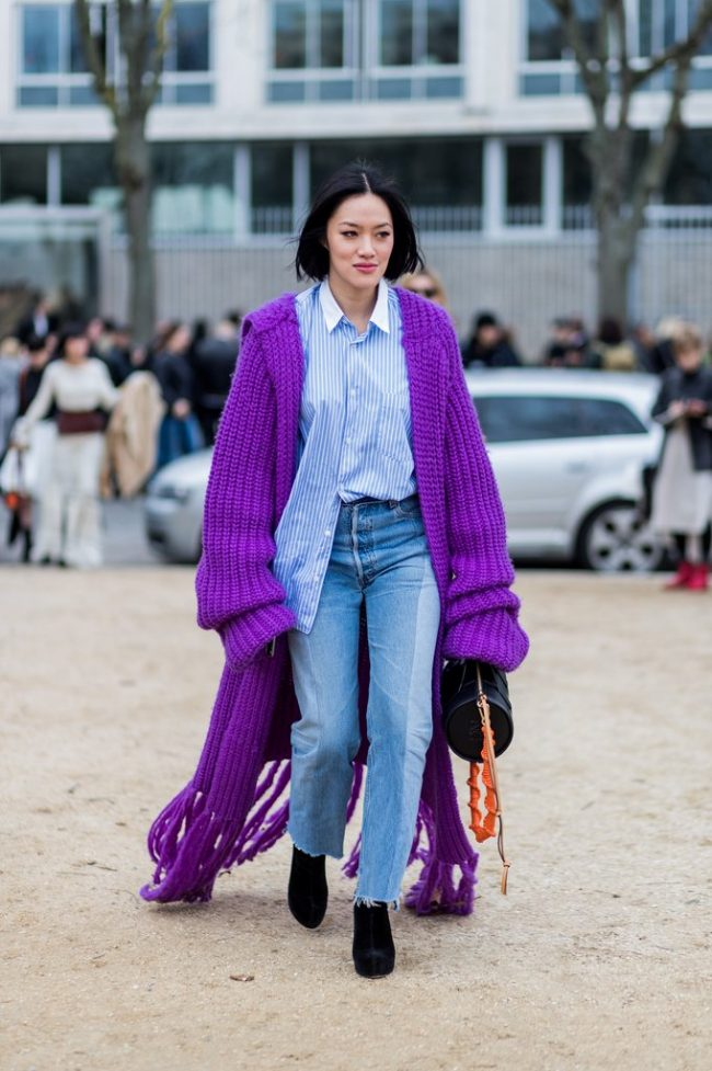 tendencias 2018 ultra violet street style color del año pantone