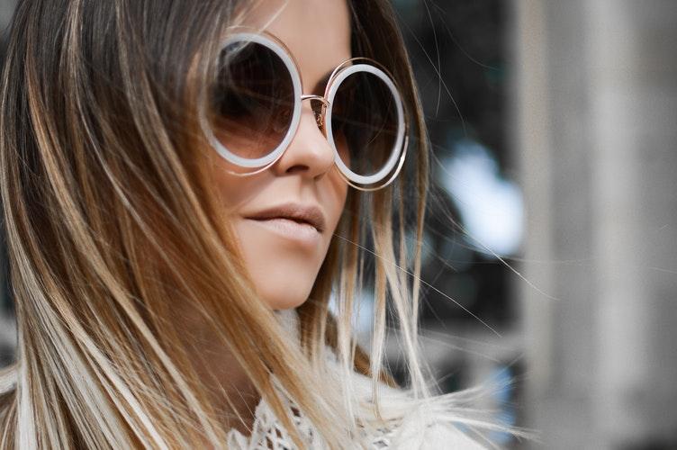 gafas sol blancas tendencias primavera verano 2018