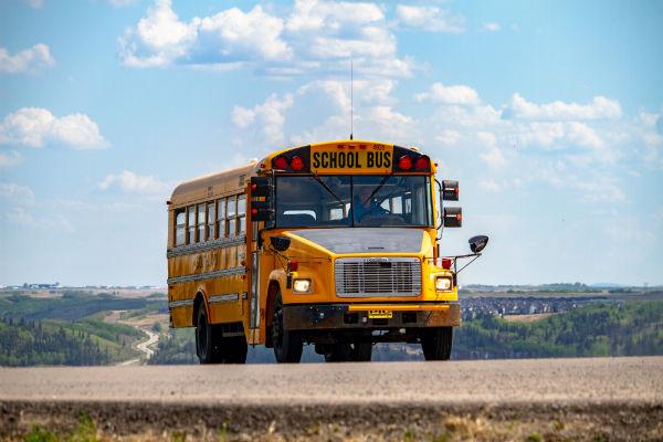 vuelta al cole 2018 autobus escolar