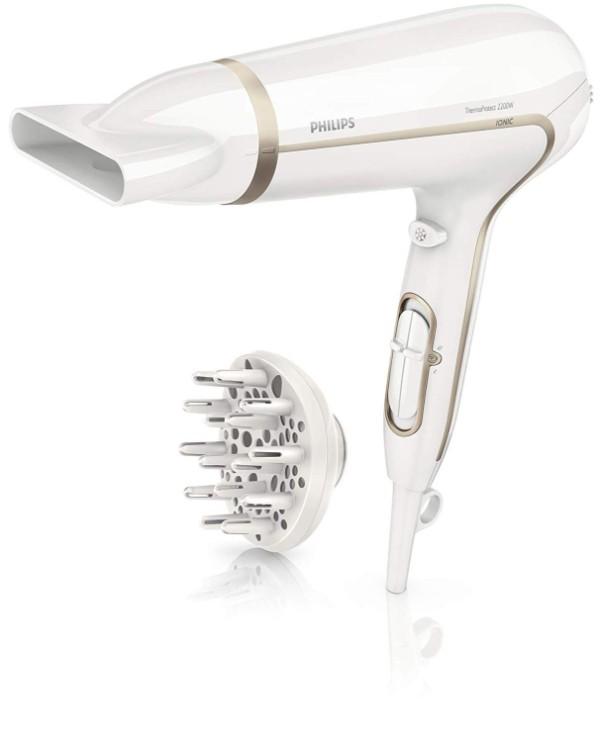 Secador ThermoProtect Ionic con ionizador para suavizar el cabello de Philips, el más vendido en Amazon