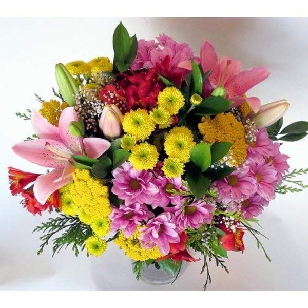 Flores naturales regalo san valentín en España entrega en 24 horas Amazon