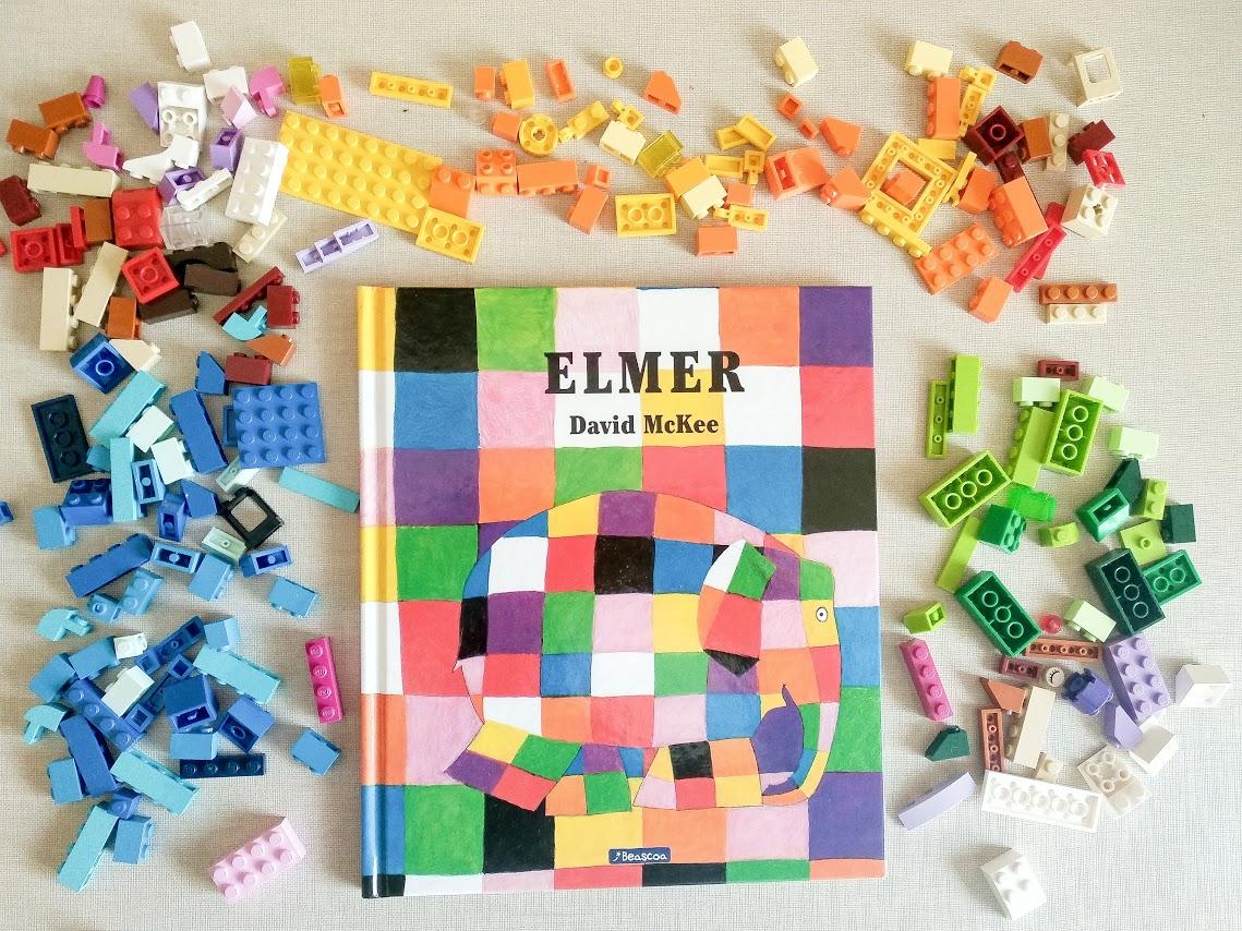 Libros educativos para niños de 4 años: ELMER