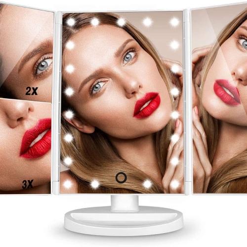 espejo-para-maquillaje-con-amplificador-y-luz-amazon
